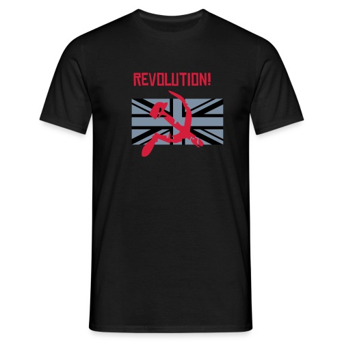 Revolution UK mens T - Men's T-Shirt