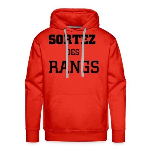 sortez des rangs sweat 1 - Men's Premium Hoodie