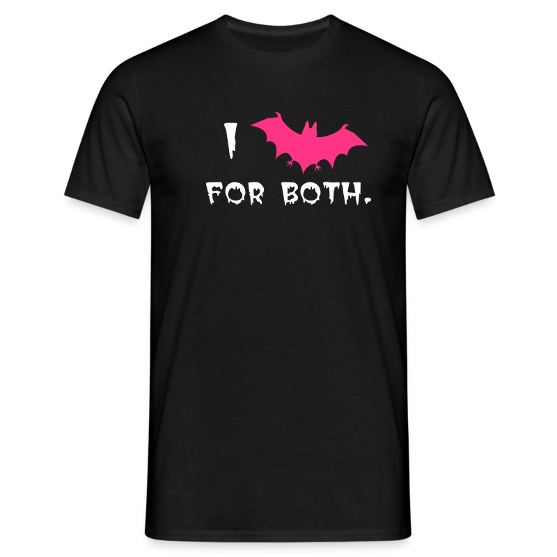 I Bat For Both - Men's T-Shirt