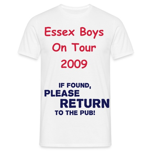 If Found Please return To The Pub - Men's T-Shirt