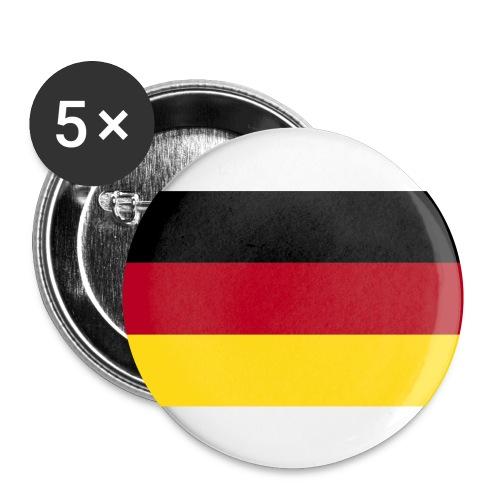 anstecker_deutschland - Buttons klein 25 mm
