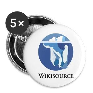 Badges Wikisource - Badge moyen 32 mm