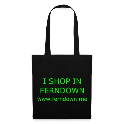 I Shop in Ferndown BAG - Tote Bag