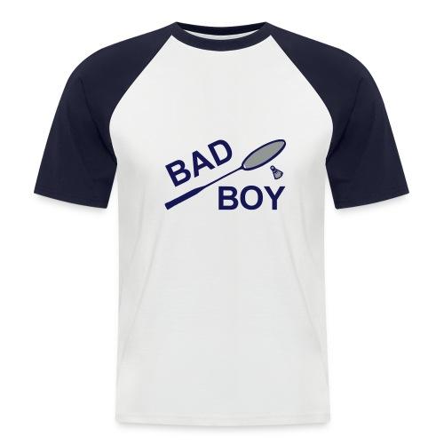 Bad boy - T-shirt baseball manches courtes Homme