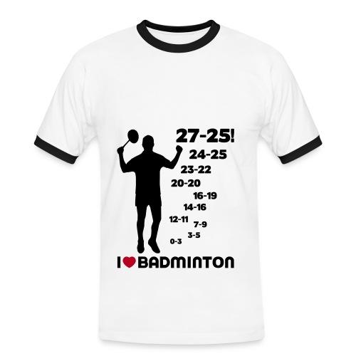 27-25! - T-shirt contrasté Homme