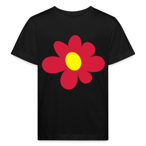 Red Flower - Ekologisk T-shirt barn