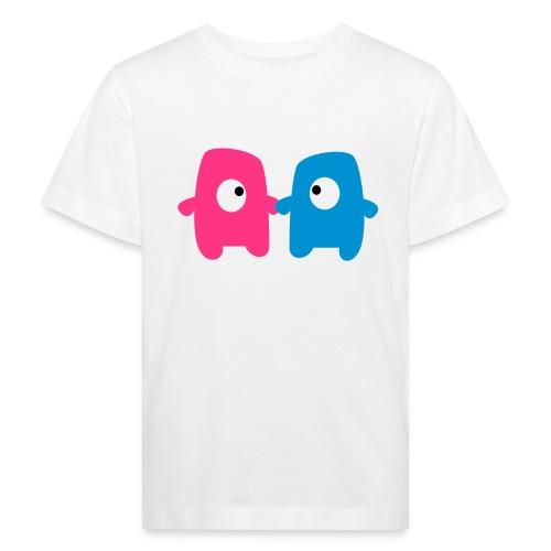 Little monsters in love - Ekologisk T-shirt barn