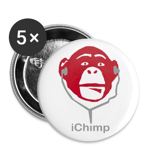 Ichimp badge - Buttons/Badges mellemstor, 32 mm (5-pack)