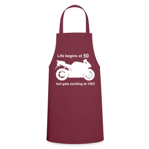 Life begins at 50 Cooking Apron - Cooking Apron