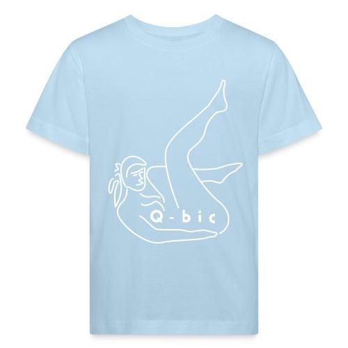 qbicladykontur - Kinder Bio-T-Shirt