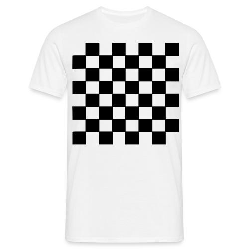 Sjakkbrett - T-skjorte for menn