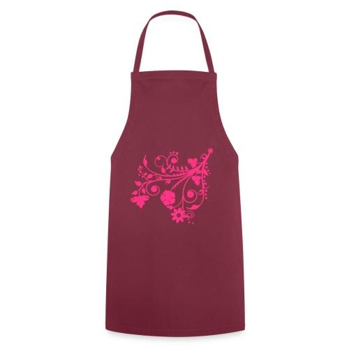 Tablier de cuisine Dentelle des fleurs - Tablier de cuisine