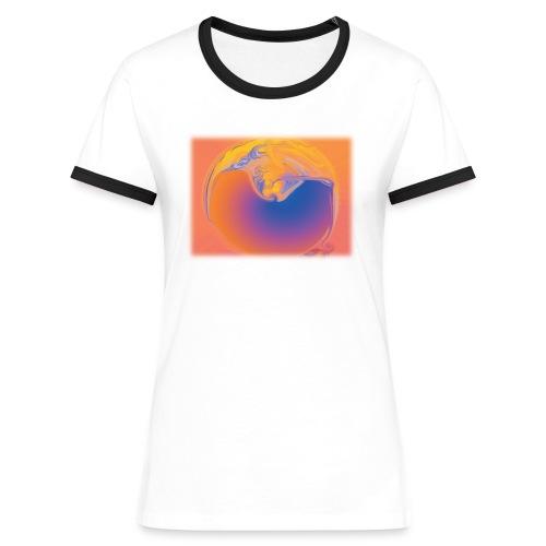 KontrastShirt OpenSphere - Frauen Kontrast-T-Shirt