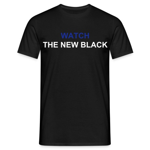 New Black Tee - Men's T-Shirt