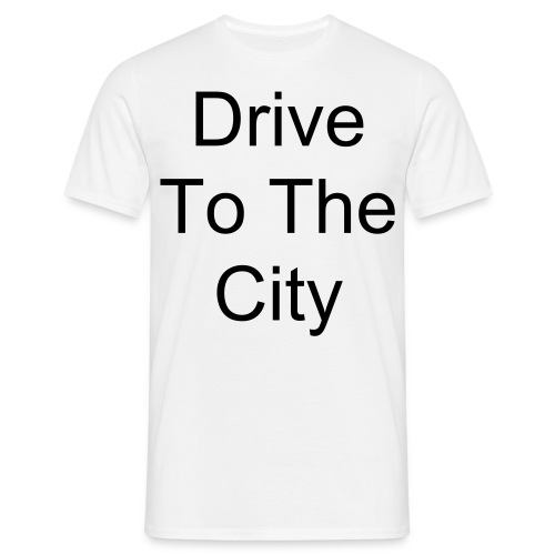 Drive To The City Tote Bag - Men's T-Shirt