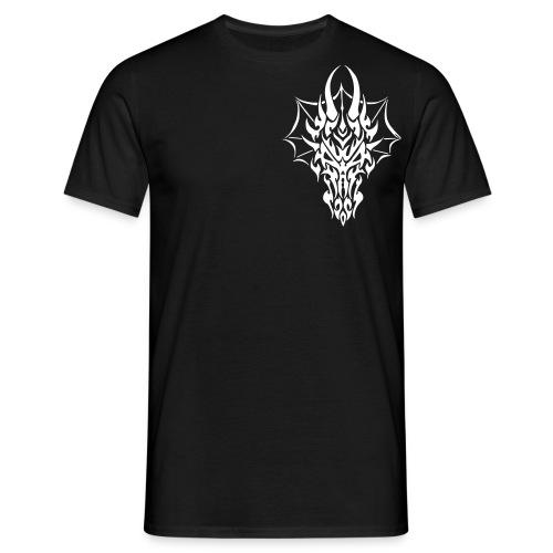 Drachenkopf Shirt - Männer T-Shirt
