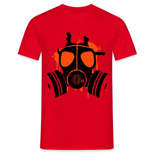 gasmask mens classic - Men's T-Shirt
