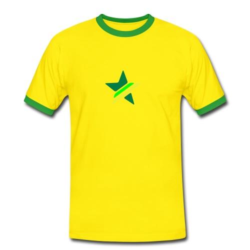 Star Mens Contrast T-Shirt - Men's Ringer Shirt