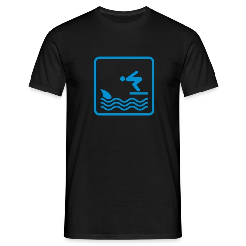 Shark Jumper - Men's T-Shirt