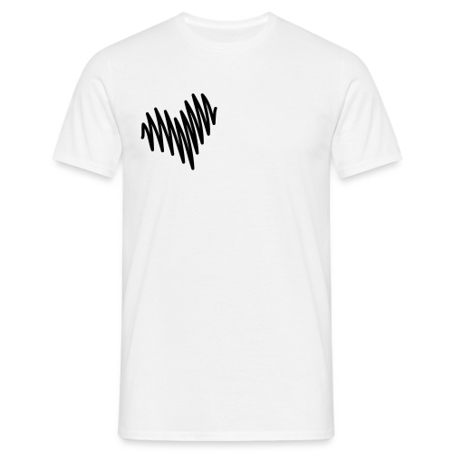 Heart tee - T-shirt herr