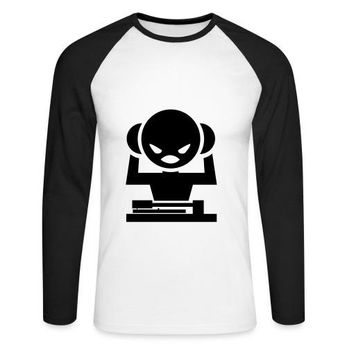 T-shirt DJ - T-shirt baseball manches longues Homme