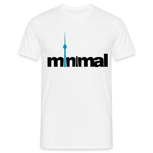 Minimal! - Männer T-Shirt