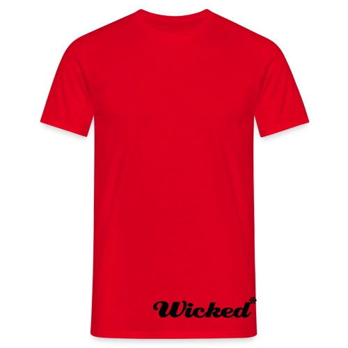 Wicked* Skull Larse - T-shirt herr