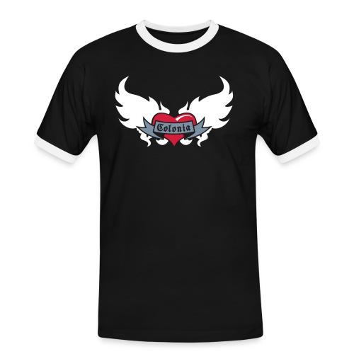 Colonia (Koelsches Haetz) - Männer Kontrast-T-Shirt