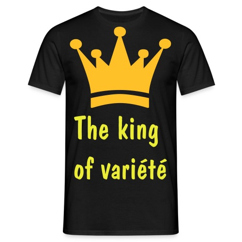 Le T Shit the king - T-shirt Homme