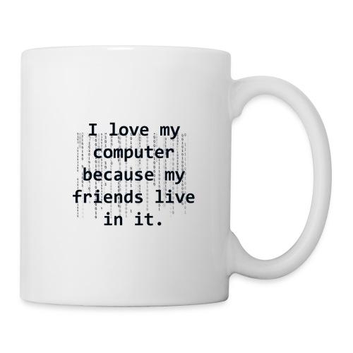 I love my computer because ... Mug - Mug