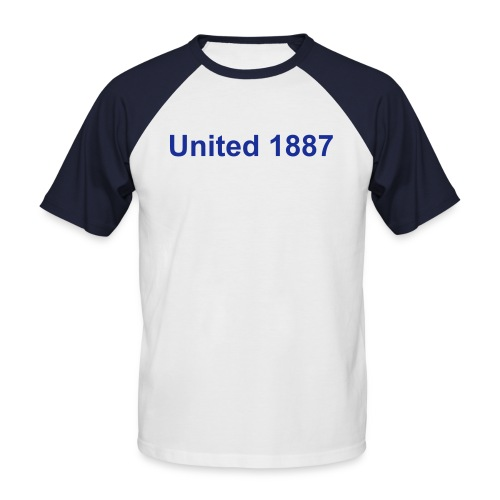 United 1887 - Männer Baseball-T-Shirt