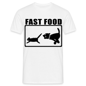 Fastfood shirt  - Mannen T-shirt