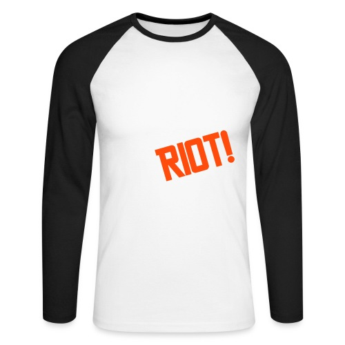 RIOT Zac - Men's Long Sleeve Baseball T-Shirt