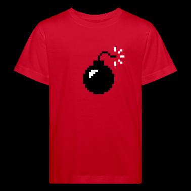 Red Mac Bomb Kid's Shirts