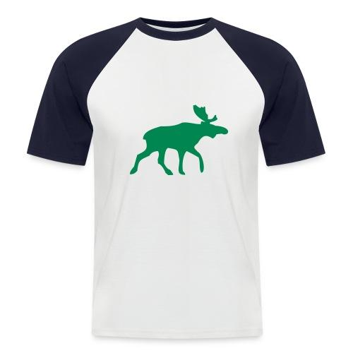 Green Moose - Men's Baseball T-Shirt