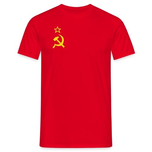 Soviet Red - Men's T-Shirt