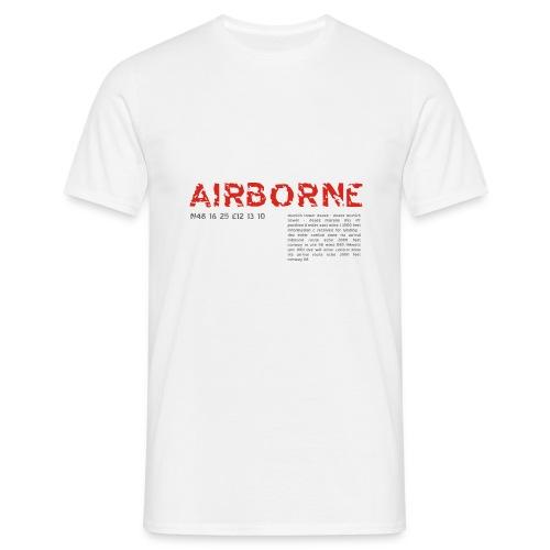 T-Shirt Airbourne - Männer T-Shirt