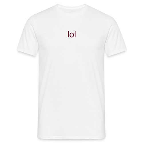 'lol'  MENS TEE (mIdesigns) - Men's T-Shirt