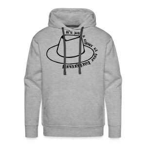 A matter of your background (greyhat edition) - Men's Premium Hoodie