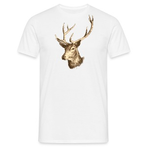 Tee-shirt homme cerf - T-shirt Homme