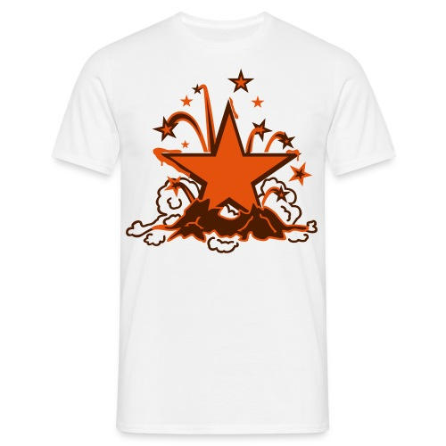 a new star is born (m, 2c, Farbe wählbar) - Männer T-Shirt