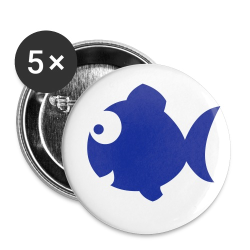 Special Edition FISH Badges!  - Buttons small 25 mm