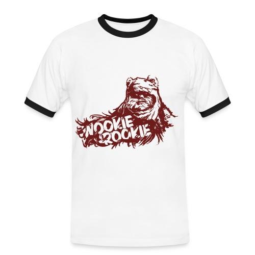 Visualicious Wookie Rookie 1.0 Retro B - Männer Kontrast-T-Shirt