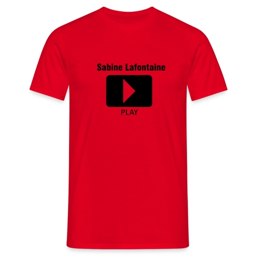 T-shirt homme play rouge - T-shirt Homme