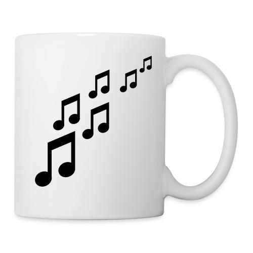mugg notes de musique - Mug blanc