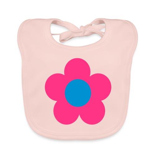 Retro flower - Vauvan ruokalappu