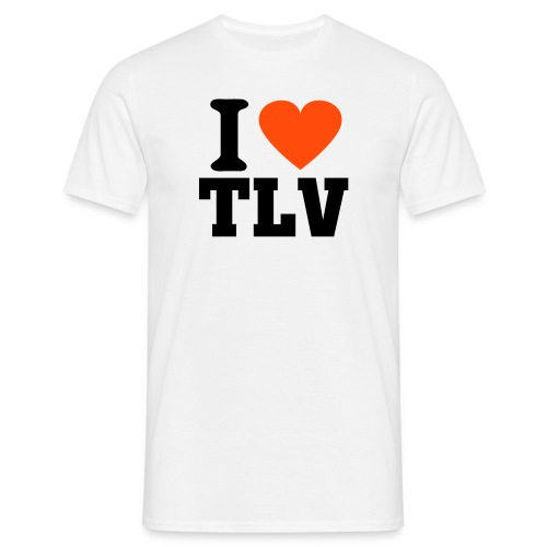 I LOVE TLV Ish - T-shirt Homme