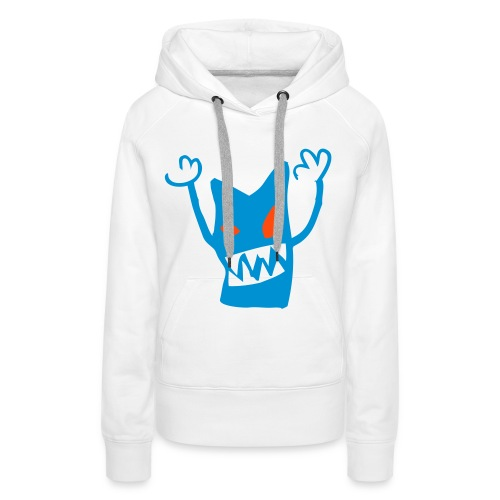 Sweat monster AIR Femme - Sweat-shirt à capuche Premium pour femmes