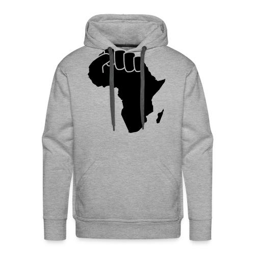 Sweat Africa Power Homme  - Sweat-shirt à capuche Premium pour hommes