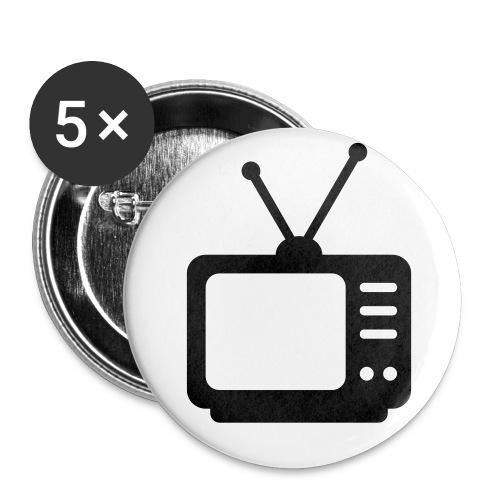 TV - Badge petit 25 mm